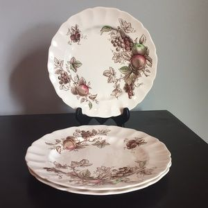 Vintage Johnson Bros. Plates